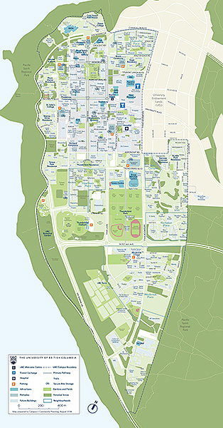 Campus map - portrait
