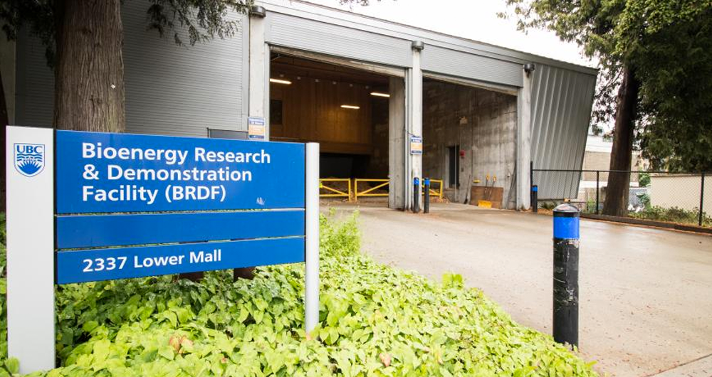 The Bioenergy Research and Demonstration Facility at UBC