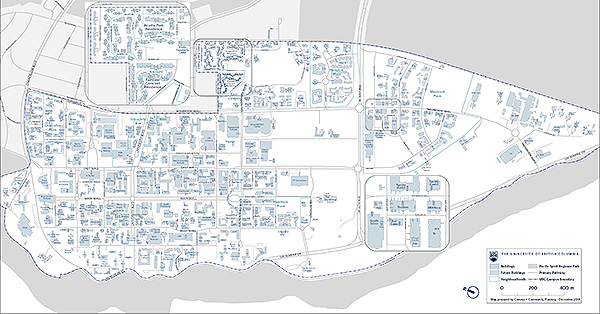 UBC address map