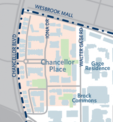 Chancellor place map