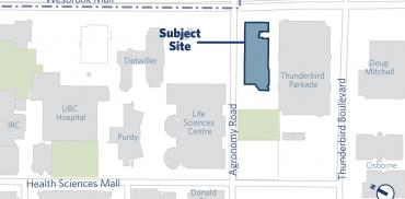 map showing where the building is